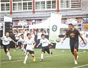 C罗进校园 激励中国足球少年