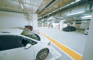 同仁醫院亦莊院區新停車場投用 車位1449個